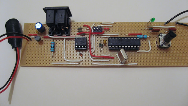 SX-150 MIDI Interface Stripboard