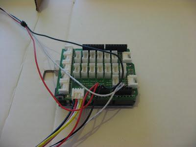 Arduino Uno and Stem Base Shield